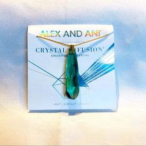 ALEX & ANI Crystal Infusion necklace NWT!